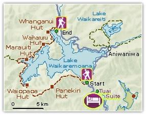Lake Waikaremoana Great Walk Lake Waikaremoana Great Walk Huts amp Accommodation